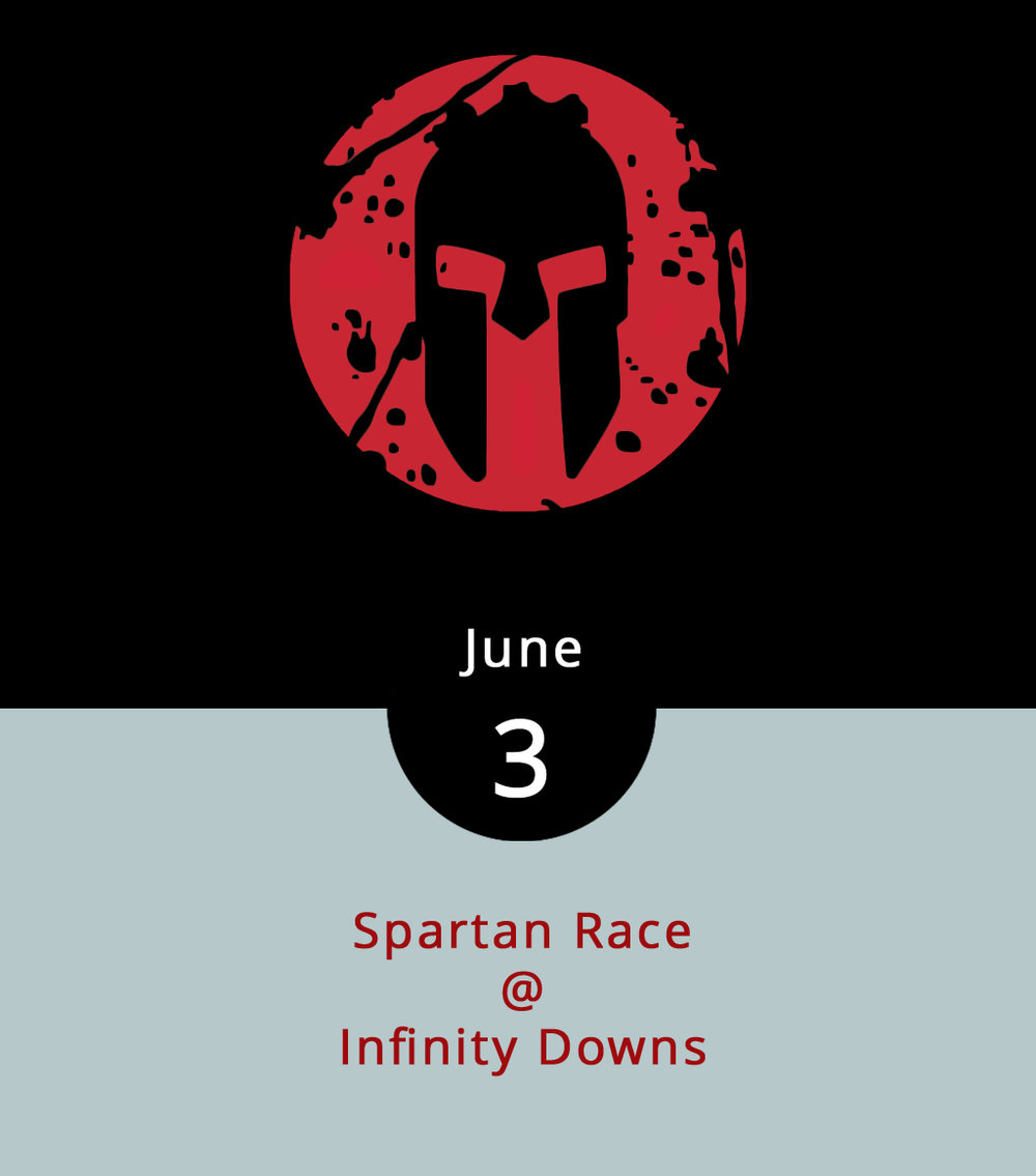 "Although a last-minute entry in a Spartan Race may be ill advised, as the challenge does include crawling ""under barbed wire and jumping fire,"" it's not too late to register. Nelson County's Infinity Downs (home to the LOCKN' music festival) will be the site for a potentially grueling and/or entertaining endurance contest. It all depends on whether you're watching or participating. Entry fees for the race at Infinity Downs (1510 Diggs Mountain Rd.) run from $169 to more than $200. The first race begins today at 7:30 a.m., with 200 or more competitors entering the course at 15-minute intervals throughout the morning. The last heat is scheduled for noon. Tickets for spectators are $20 in advance, and $25 on the day of. Parking is $10. Click  here  for more info."