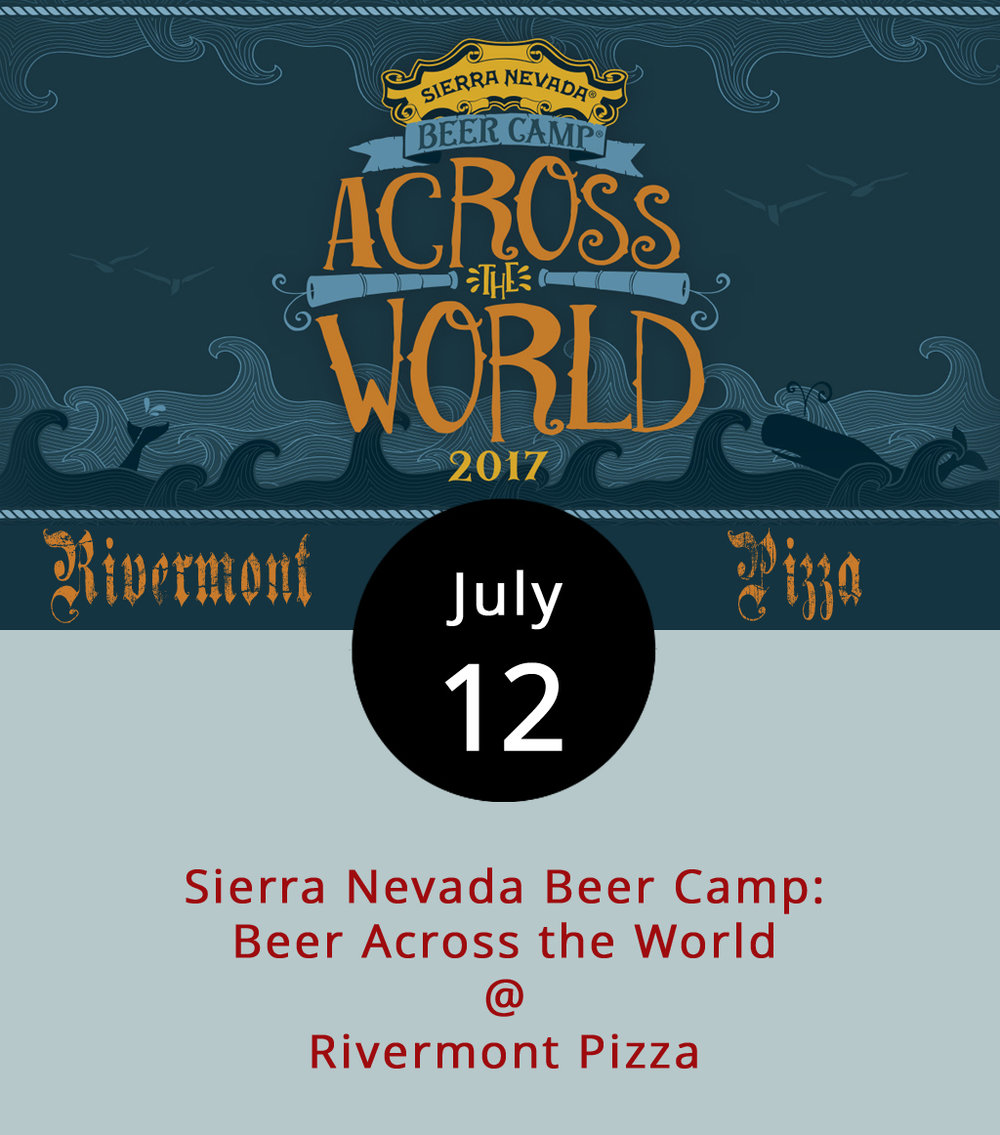 "With experimental brews featuring some unusual ingredients like lactose, orange peel, Black Tea, tamarind and star anise in the Thai-Style Iced Tea Ale, it could get weird as Sierra Nevada and some of its friends from across the world take over 12 taps at Rivermont Pizza (2496 Rivermont Ave.) tonight. For the 7.2% ABV Thai-Style Iced Tea Ale, Sierra worked with Mikkeller Brewery, a gypsy brewer who makes a career from collaboration, signaling the philosophy behind Sierra Nevada's annual series. (Of note: Mikkeller's Danish founder Mikkel Borg Bjergsø is a twin to Evil Twin founder Jeppe Jarnit-Bjergsø.)  Every year Sierra, a grandfather of American Craft beer collaborates with breweries of all sizes and stages of life. RP generally has ""zero access"" to about half the breweries who participated because they don't distribute in Virginia, according to barkeep and manager Jeremy Fogt. Usually, the only way to drink a beer from Tree House Brewing Company, which teamed up with Sierra for the East Meets West IPA, is to visit Monson, MA, where they brew it. The 12-packs for Sierra Nevada Beer Camp series are also available in stores but we hear they're hard to come by. For a complete beer list and information about the beers, click  here . You can also call RP at (434) 846-2877 for more information."