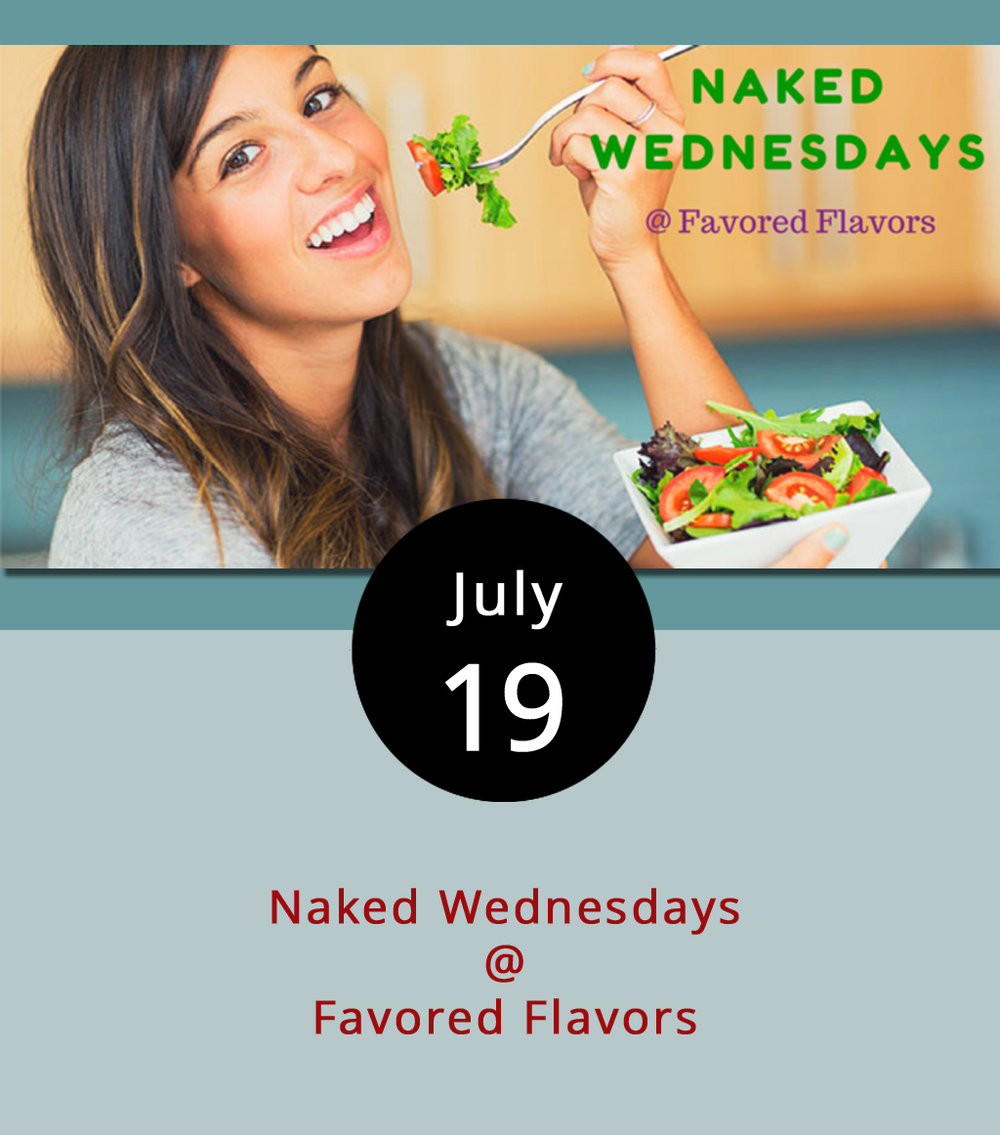 "Your lunch can show up naked today to Favored Flavors (912 Main St.) and leave fully dressed in seasoned olive oils, balsamic vinegars, sea salts and peppercorns. From 11 a.m. to 2 p.m. every Wednesday, the specialty tasting shop invites you to bring plain rice, pasta, salad or another food item with your choice of their flavorings to ""enhance"" your regular lunch for free. Between indoor and outdoor seating, the shop seats about 10, but you're welcome to come, pop open your tupperware, top your meal and head back to the office, nearby bench or down to Riverfront Park. For more information about Favored Flavors and its products, click  here or call (434) 238-0801."