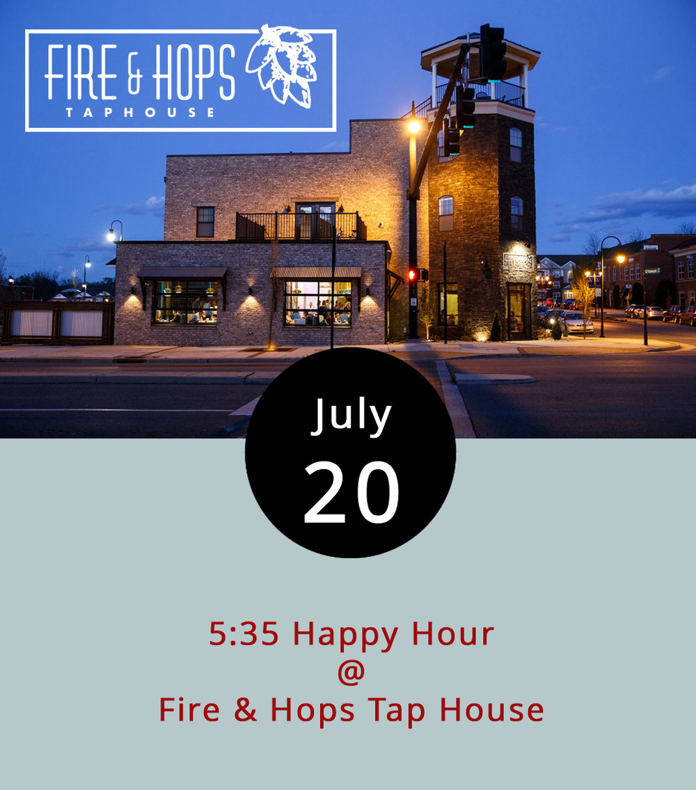 The Hill City can be a hard place for millennials to meet people in that same age range, but the Central Virginia Young Professionals host a monthly happy hour to help young residents do just that. This month's 5:35 meetup is at Fire & Hops Taphouse (101 Tradewynd Dr.) in Wyndhurst from 5:35-8 p.m. No membership fee or cover charge is required to attend. Feel free to bring business cards to trade. For information about the event click  here , and click  here  for the Fire & Hops menu. The CVYP group is organized to attract and retain young talented professionals to the Lynchburg area. For more information about the organization, click  here  or call (434) 847-1447.