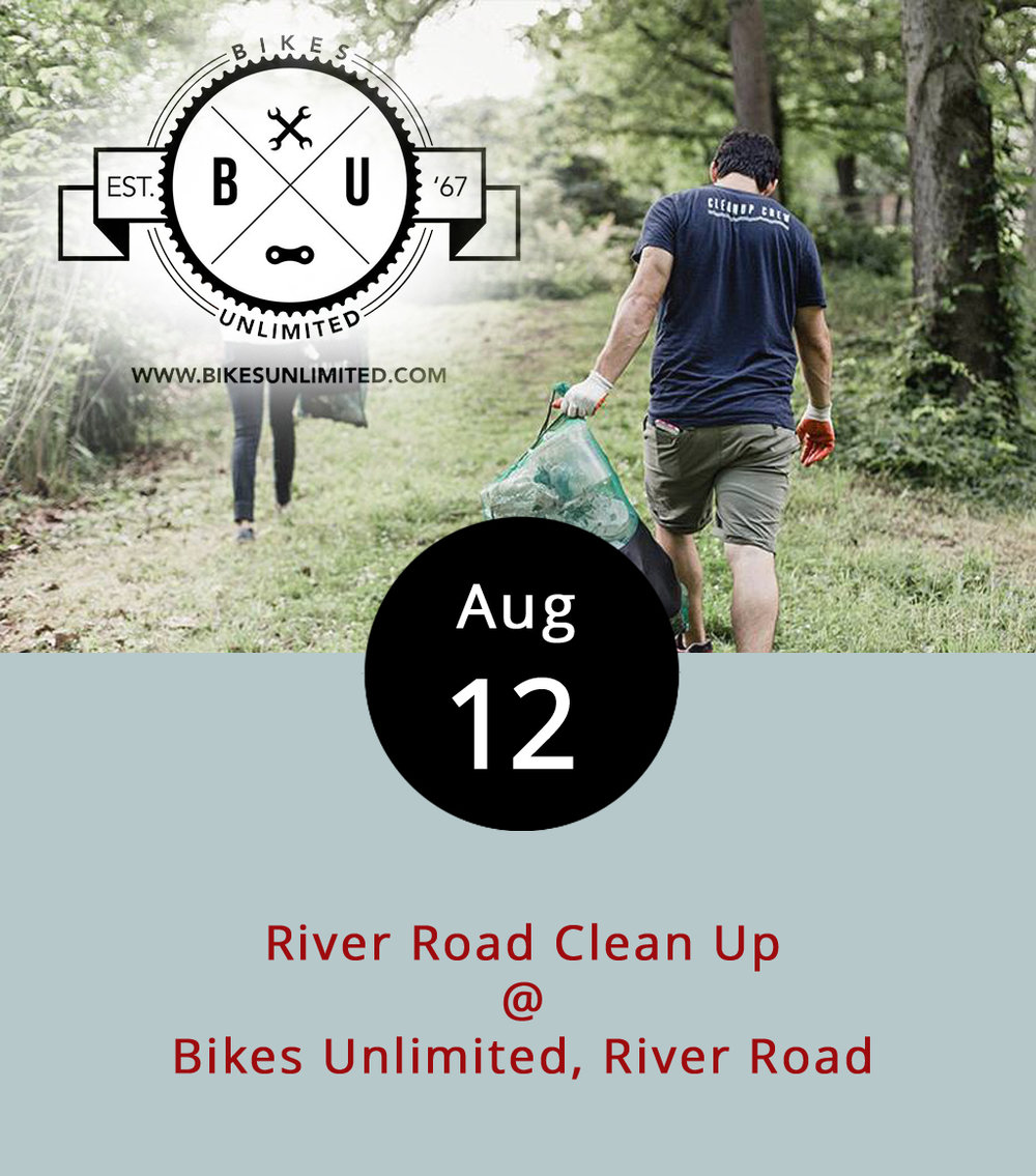 A group of cyclists plan to take an easy ride to do some hard work this morning cleaning up the well-cycled River Road. The group will meet at Bikes Unlimited (1312 Jefferson St.) at 8 a.m. before riding across the James to River Road. Trucks with equipment will follow the cycling pack who will stop to clean up where the road needs some attention, which likely means a lot of trash pickup. They'll go as far as they can until noon, then return to the bike shop where anyone who helped clean up gets a free lunch. At a recent Pints after Pedals group ride, Bikes Unlimited owner John Seinar urged cyclists to attend the cleanup to not only act as stewards of the roads they frequent, but also to improve the cycling community's reputation. Click  here for more information or email Seinar at john@bikesunlimited.com.
