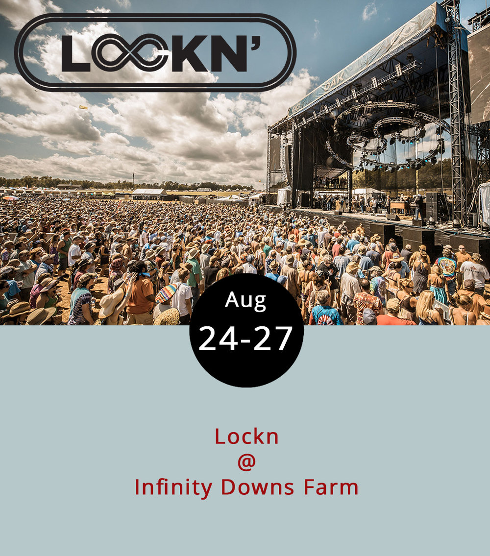 The Black Crowes, the Allman Brothers Band, Wilco, Willie Nelson, and Led Zep's Robert Plant are just a few of the big-name artists who have made their way to Infinity Downs Farm (1500 Diggs Mountain Rd.) in nearby Arrington for the annual Lockn Festival since its inception back in 2013. Lockn's a big commitment, even for the most serious of music fans: it features dozens upon dozens of bands, artists, and other activities, including yoga, swimming, and, of course, camping. There's even a mobile app to help folks keep track of it all. Some of the more notable performers this year are songstress Brandi Carlile, My Morning Jacket frontman Jim James, the one and only John Fogerty, and the Avett Brothers with Bob Weir of the Grateful Dead (Weir is also scheduled as a guest Friday with former Dead-mate Phil Lesh). The complete schedule is available  here . Music starts tonight and goes pretty much straight through to Sunday evening if you count firelight singalongs. Single day tickets starts at $64, and there are Tier 2 tickets for $299. We suggest spending some time on the Lockn  website  before making any rash decisions.
