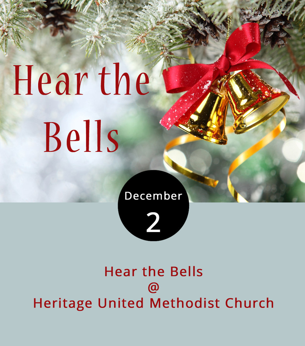 "Christmas means so many things to so many people, a fact made clear by the breadth of holiday songs that float through crisp winter air. The Jefferson Choral Society will hit notes all along that spectrum today at their annual Hear the Bells holiday concert at Heritage United Methodist Church (583 Leesville Rd.). While excerpts from George Frideric Handel's ""Messiah"" are the show's centerpiece, listen for secular holiday classics, such as ""I'll Be Home for Christmas"" and ""You're a Mean One, Mr. Grinch,"" as well. Even if you don't know ""Messiah"" by name, you'll likely recognize at least part of the lengthy oratorio in which performers sing ""Hallelujah"" (performed  here  by the Mormon Tabernacle Choir). Performances are 7:30 p.m. tonight and 4 p.m. Sunday.  Tickets  are $20 for adults and $10 for students age 12 and over. Children under 12 are free. For more information, click  here  or call (434) 528-5700."