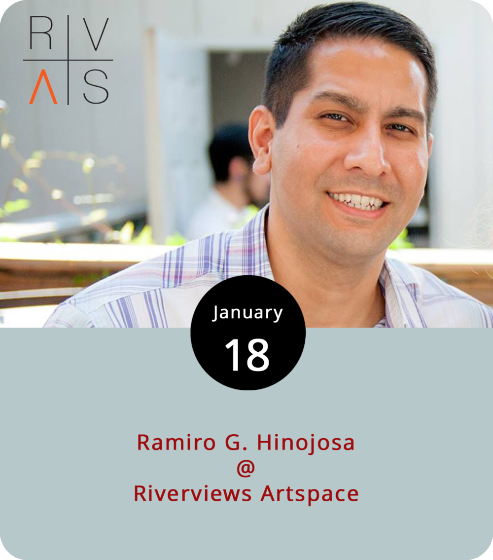 "Ramiro G. Hinojosa is an Iraq war vet, one-time journalist, and Virginia Center for Creative Arts fellow who has made his way into the short story business. He reads from his work tonight at Riverviews Artspace (901 Jefferson St.) from 7:30-9 p.m. in the Rosel H. Schewel Theater. The Texas native, who served in the 82nd Airborne Division and was deployed in 2006-2007,   received his fellowship through the VCCA's ""Collateral Reparations"" program, which pairs military veterans with patrons of the arts. His stories — like his 2013 essay "" Fiction of Peace "" — integrate experiences he had on the ground in Iraq.For more information, click  here  or call (434) 847-7277."