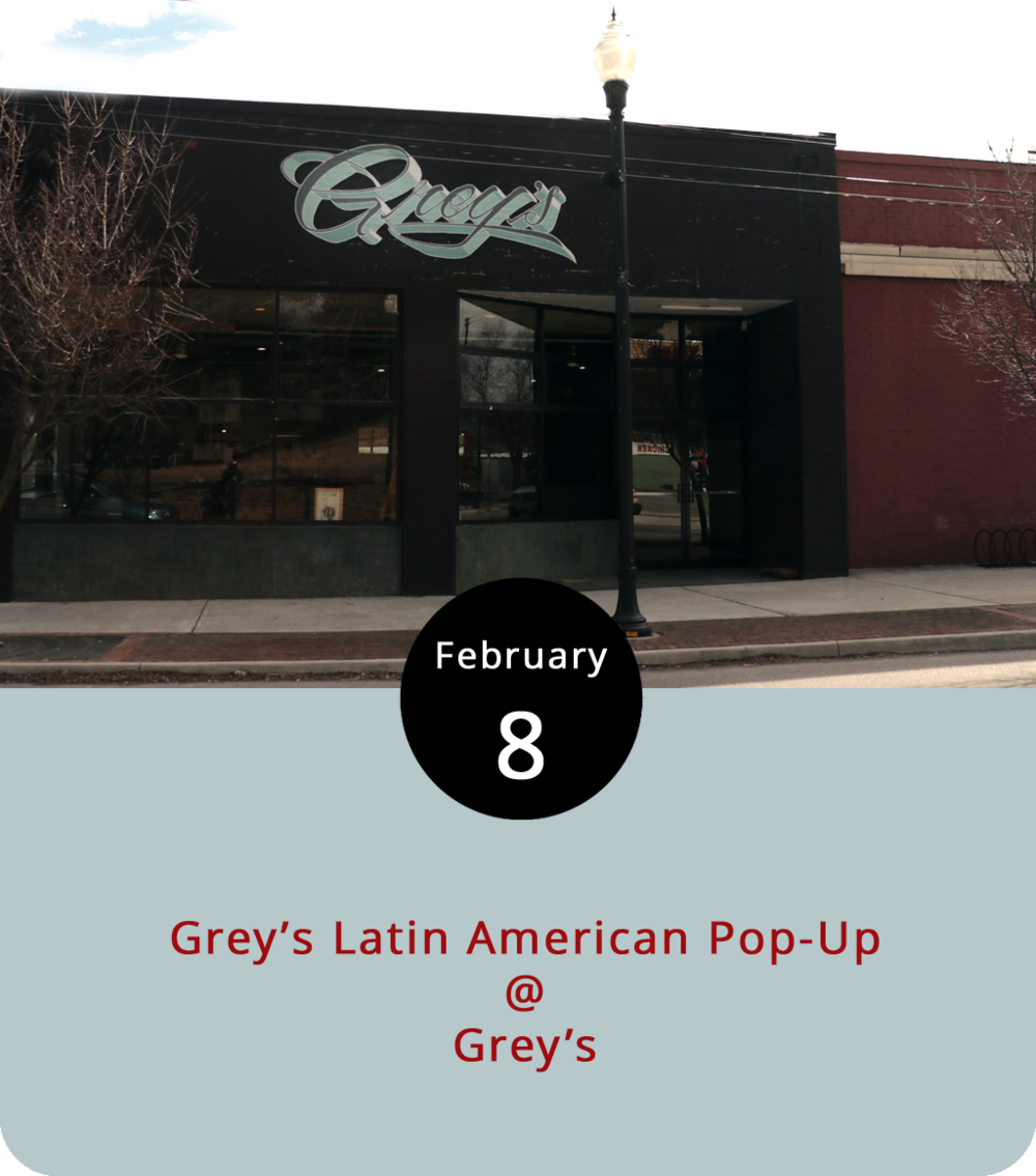 "From the folks who built Rivermont Pizza into a Hill City institution, we've got another thing coming: a stylish neighborhood eatery known as Grey's (512 5th St.). Longtime Lynchburgians may remember the Starlight Café, a bustling breakfast joint that stood on 5th between Clay and Madison until just a few years ago, when construction in that area took its toll on local businesses. Tonight, in that same space, ""Ricky from Rivermont"" will unveil Grey's with a soft opening preview from 6 p.m.-midnight featuring a special Latin American menu, including posole (duck), elotes (street corn), refried hummus, guacamole, and veggie and meat tostadas and tacos. When Grey's opens full time next week they'll be serving American cuisine for breakfast, lunch, and dinner in a café setting with a full bar. ""Ricky"" plans to keep it interesting by offering daily specials. For more information, including prices for tonight's specials, check out the event  page . They also have a beer dinner scheduled for this Friday, but it's sold out."