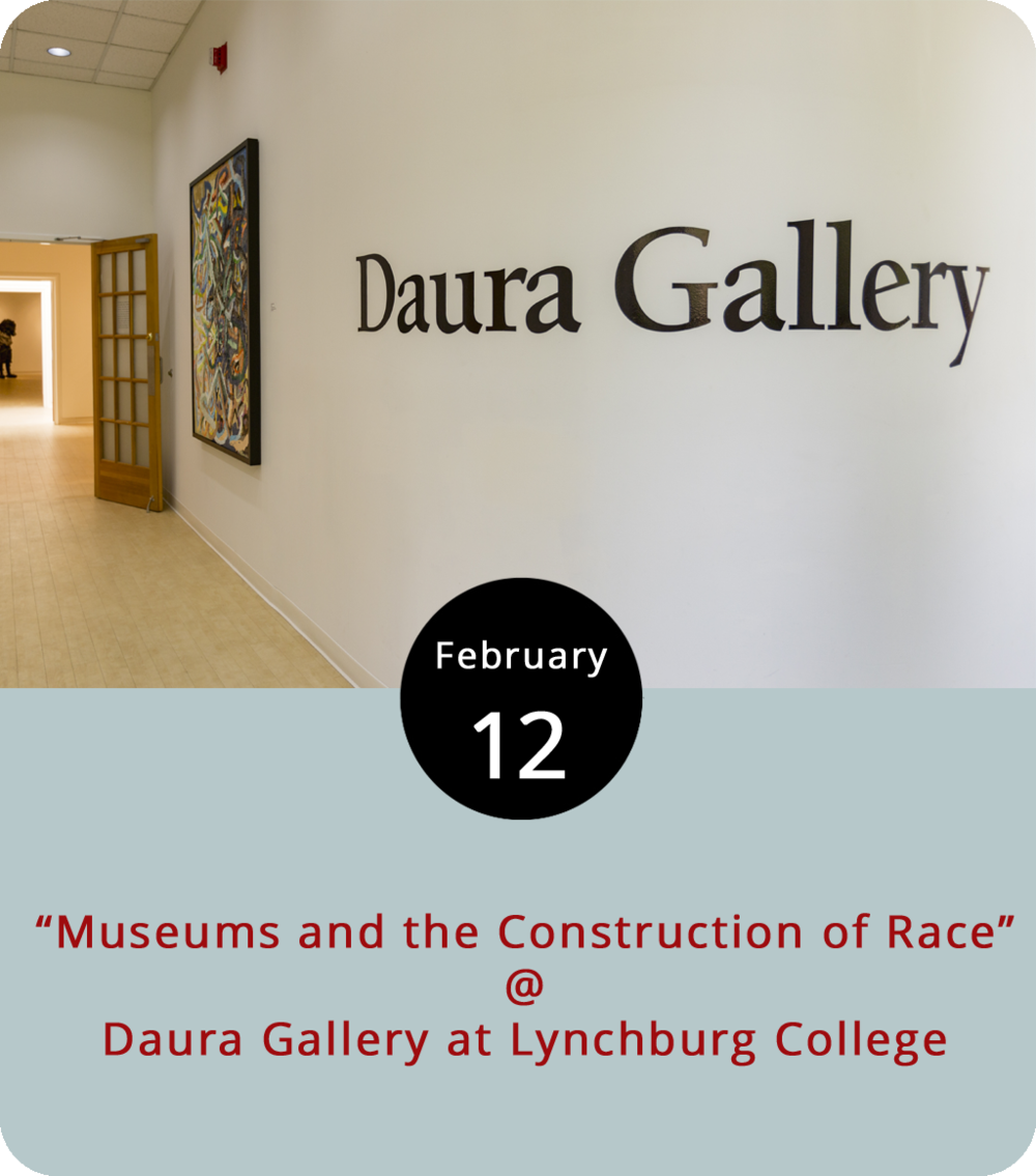 "Lynchburg College's Daura Gallery (1501 Lakeside Dr.) is currently hosting two related exhibits: a retrospective of works by Amherst County folk artist Queena Stovall (1887-1980), and a exhibit dedicated to works by Richmond-born Louise Blair Daura (1905-1972), a portrait artist and wife of Pierre Daura (1896-1976), the artist and art professor from whom the Daura Gallery gets its name. But the gallery is also doing its part to mark Black History Month by presenting a lecture by Wandile Kasibe, a public programs coordinator from Iziko South African Museum in Cape Town, South Africa. ""Museums and the Construction of Race: Investigating the Colonial Crime Scene"" tackles the thorny issue of what happens when art is manipulated through its presentation to support racist ideologies. Specifically, Kasibe will address the role South African museums played in bolstering apartheid from 1948-1991. It's a free event that takes place in the College's Hopwood Hall. Click  here for more info or call (434) 544-8595."