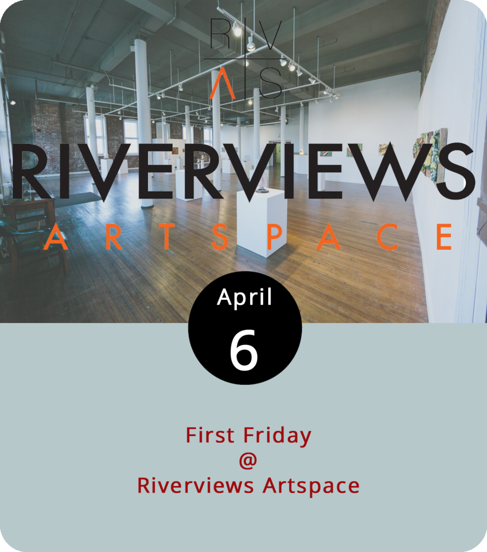 There are a lot of good reasons to get downtown this evening for the first First Friday of spring, including a whole lotta art and some pretty decent music. The Academy Center of the Arts (600 Main St.) is featuring a juried exhibit of works by Lynchburg College, Randolph College, and Sweet Briar College students, as well as a national juried exhibit of works curated by Maier Museum Curator of Education Laura McManus. Lynchburg Museum (901 Court St.) has an exhibit of historical wedding gowns. And Riverviews Artspace (901 Jefferson St.) is the nexus of a bunch of stuff, including an opening reception for an exhibit of works by Cheryl Hawkins in the Co-op Gallery from 5 to 8 p.m., and two musical performances. Down the hall from the art reception, it's original rock courtesy of A New Low, a local foursome featuring LD publisher Matt Ashare and LD web guru Jay Oliveira, from 6 to 8 p.m. Downstairs, in the Speakertree record shop, it's art-rock from two bands, Jovian and TLVS, starting at 7 p.m. All events are free and open to the public. Click here for info on  Riverviews , and here for more on  First Fridays .