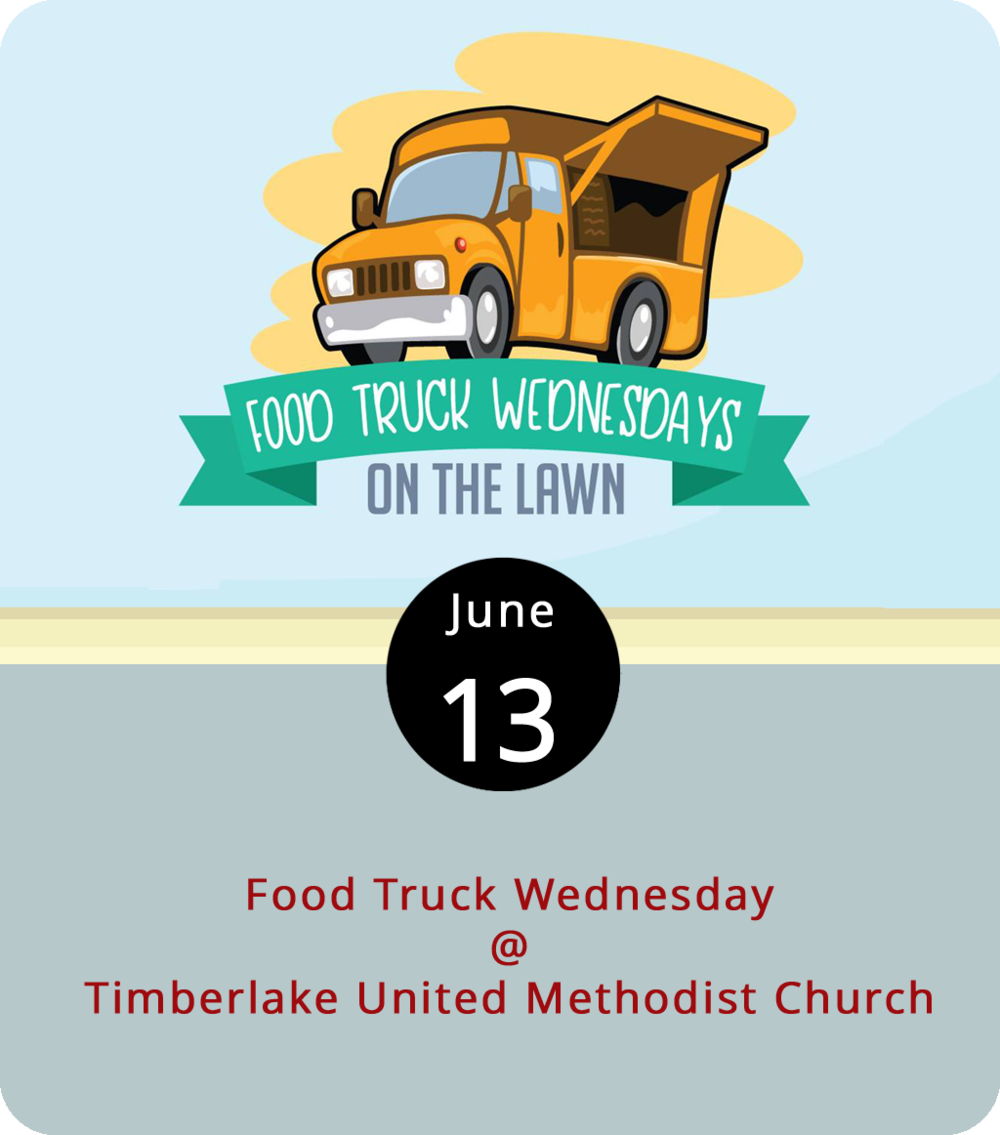 Most food truck roundups feature just a handful of mobile culinary artisans, but this evening Timberlake United Methodist Church (21649 Timberlake Rd.) will pull together quite the rodeo. Nine trucks have committed to participate from 5-8 p.m., the first of three Wednesday events the church has planned this summer. Uprooted, the Taco Wagon, Hibachi Guys, Lynchburg BBQ Co., Upper Crust Pizza Co., Brother Jake's Brick Oven Creations, Nomad Coffee Co., Homestead Creamery, and Kona Ice should be on hand. For more info and updates, click  here  or call (434) 239-1348.