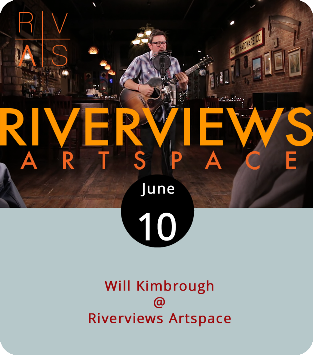 Will Kimbrough occupies a space reserved for artists you may not know by name, but if you're an Americana music fan, you've probably come across some of his work. An Alabama native who grew up in Mobile, Kimbrough operates as a producer, songwriter, an adept multi-instrumentalist out of the music city of Nashville, where he's worked with a long, long list of talented artists, including Roseanne Cash, Mark Knopfler, Steve Earl, Guy Clark, and Emmylou Harris. He also writes and records his own songs, which is what brings him to Riverviews Artspace (901 Jefferson St.) this evening from 7 to 9:30 p.m. on the stage in the Rosel H. Schewel Theater. Tickets are $17.50. Click  here  or call (434) 847-7277 for more info.