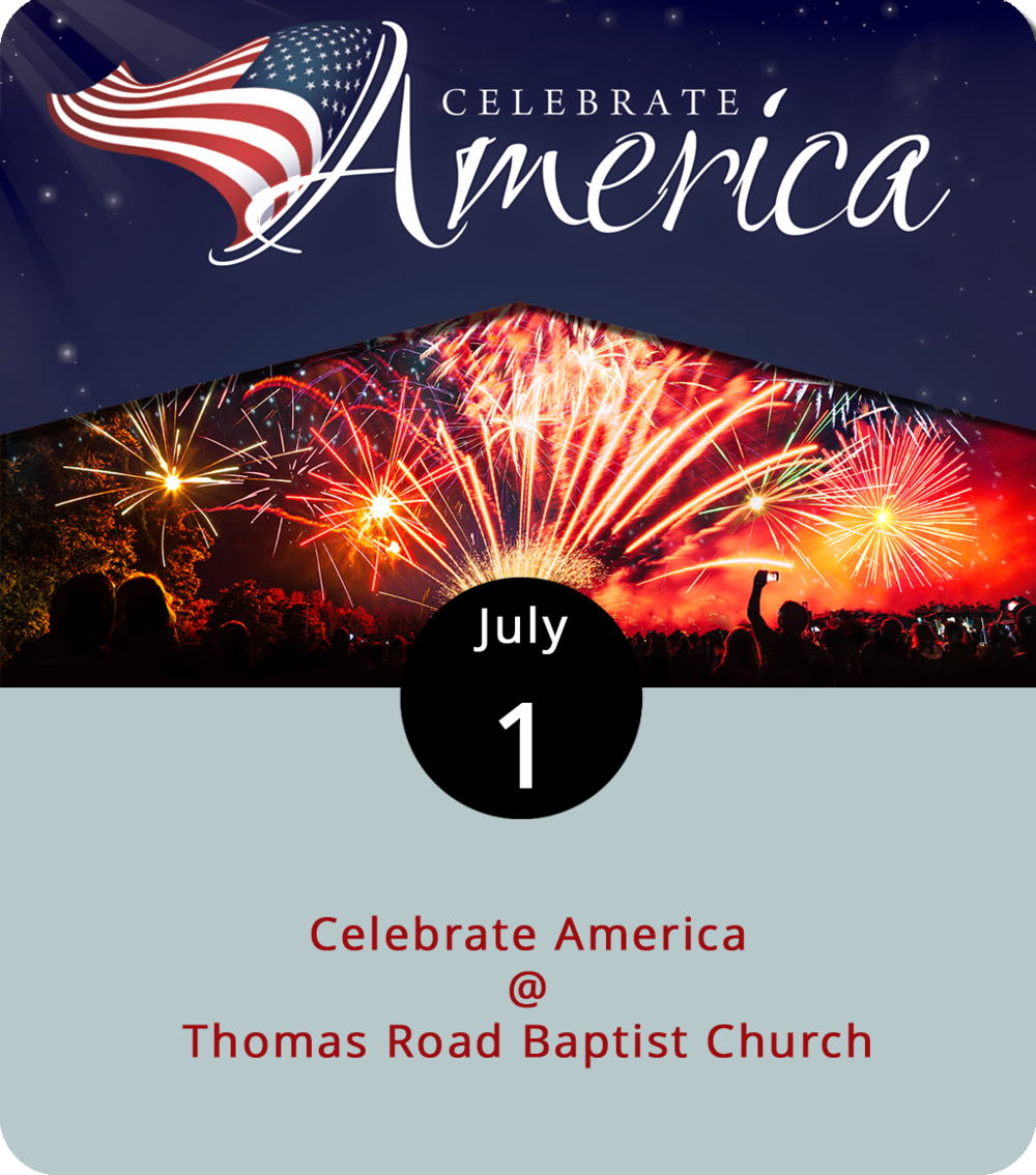 It's a few days ahead of Independence Day, but Thomas Road Baptist Church (1 Mountain View Rd.) will hold what's likely the best fireworks show in the region today. The event begins at 5 p.m. with music, food trucks, and plenty of activities for the whole family – a couple years ago, we witnessed the wonders of a faith-based strongman show, replete with heavy metal and heavy objects. The event is free and open to the public. For more information, click  here or call (434) 239-9281.