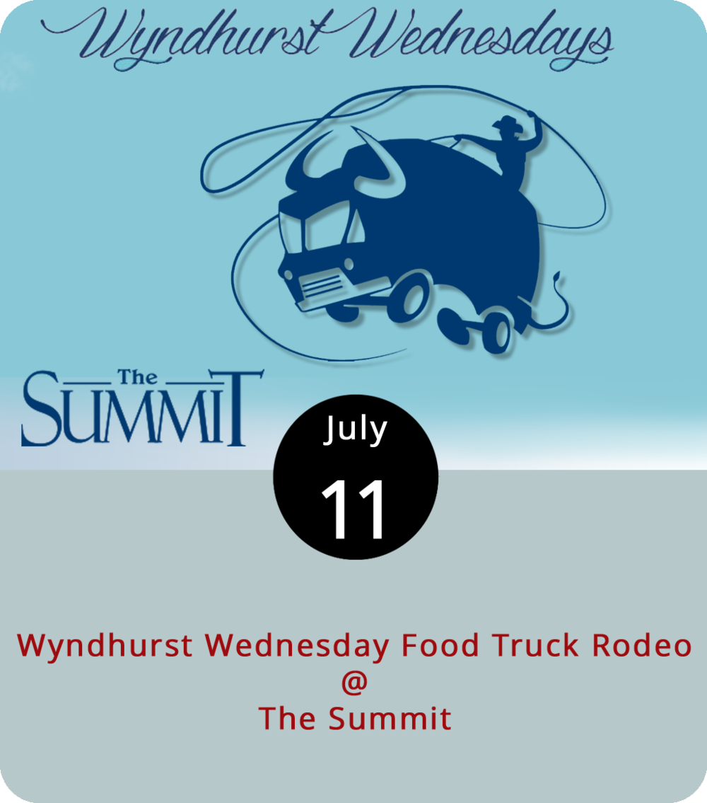 Those who live or work in the outskirts of Lynchburg may not have had a chance to take a food truck lunch break. But once a month during the summer season, The Summit (1400 Enterprise Dr.) rounds some up for Wyndhurst Wednesdays. From 11 a.m. to 2 p.m., expect to find a handful of food trucks; The Summit hasn't yet posted the lineup. Outdoor seating is available, and folks are welcome to bring a blanket or lawn chairs for a picnic on the lawn. For more info and updates, click  here .