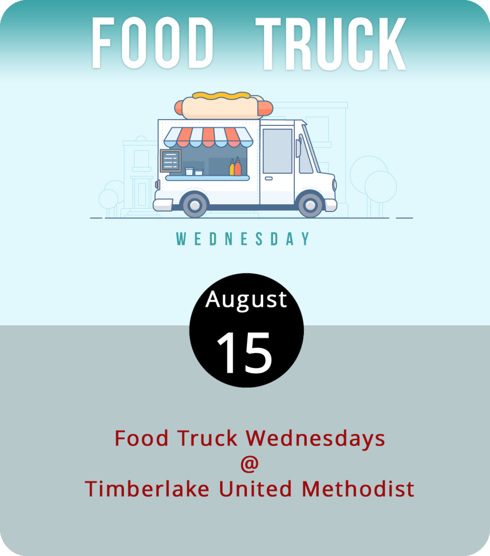 Food Truck Wednesday at Timberlake United Methodist (21649 Timberlake Rd.) is shaping up to be the largest gathering of Lynchburg food trucks this summer. The church, which hosts the roundup on its lawn, booked the Taco Wagon, Sourdough Pizza Co., Lynchburg BBQ Co., Uprooted, Hibachi Guys, Brother Jake's Brick Oven Creations, Calle Cruz, Homestead Creamery, Kona Ice, and Dem Bunz, which adds up to a whopping ten trucks ready to serve up the goods at 5 p.m. For more info, click  here or call (434) 239-1348.