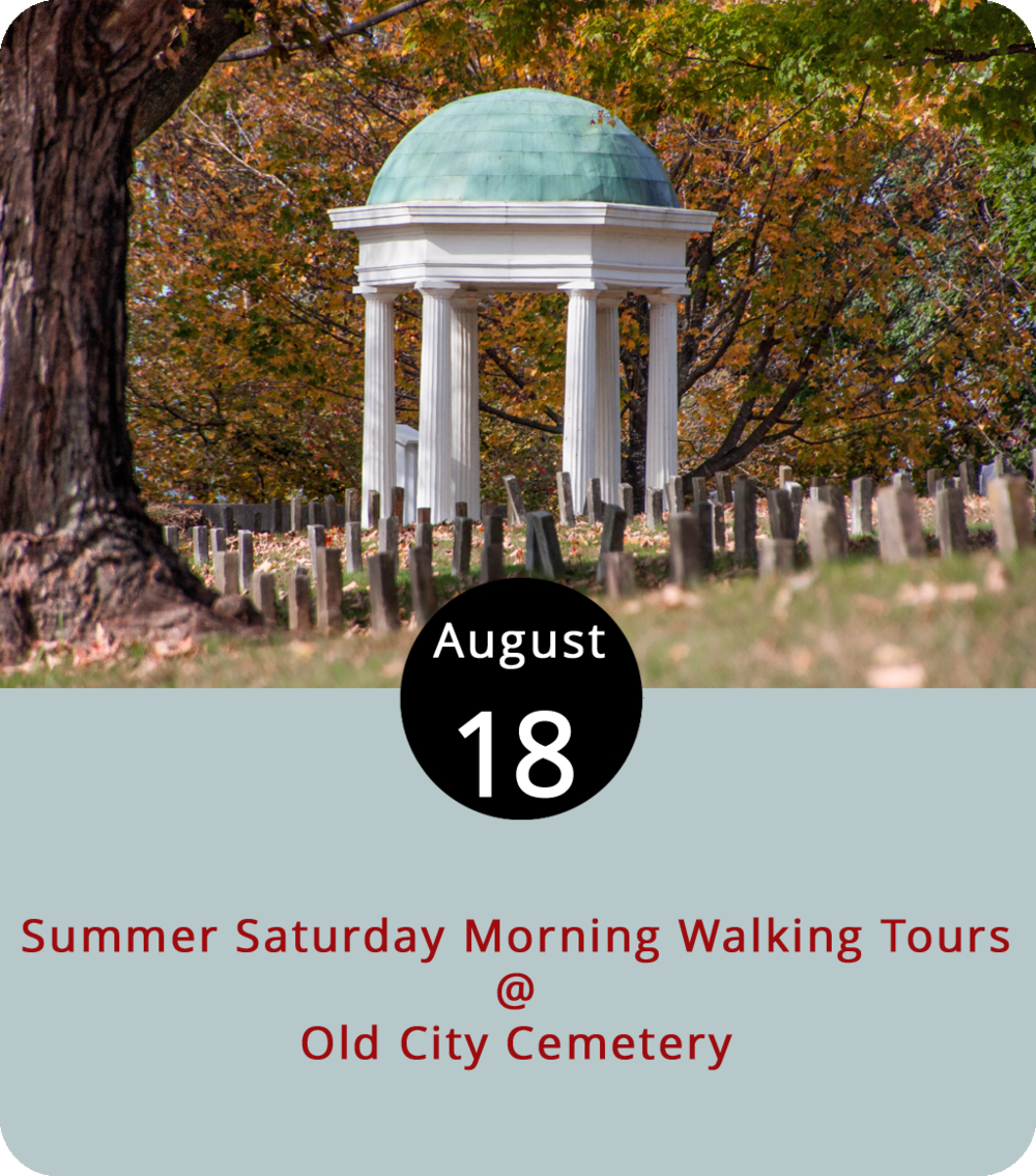 The thick August humidity is a sign that summer, which technically goes until September 22, is practically winding down. That's why there are only two more days of Saturday Morning Walking Tours at Old City Cemetery (410 Taylor St.). Today and next Saturday, the public is invited to the historic cemetery and arboretum for a free, guided, 10 a.m. tour, which is a nice way to get moving before heading over to the Community Market (1219 Main St.), heading down to Jefferson Street for a stroll, or just grabbing lunch at any of downtown's fine establishments, which now includes the newly opened Mediterranean spot Tahini's Grill (912 Main St.), where the falafel is made to order. For more info on Old City Cemetery and the walking tours, click  here and  here .