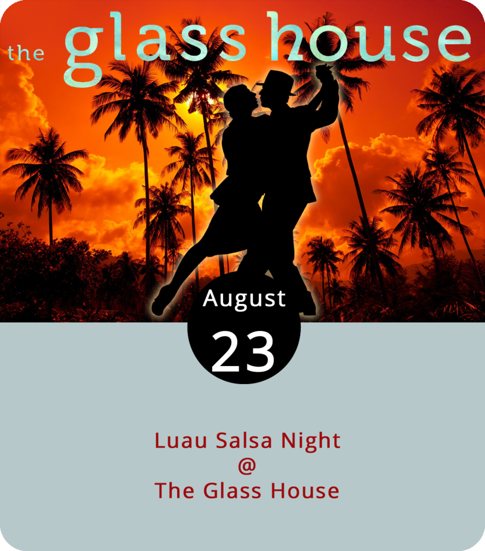 Lynchburg Salsa has gotten back into a regular groove, which means lessons and dancing most Thursdays at the Glass House (1019 Jefferson St.). Tonight they've got something of a multi-island mash-up planned, as the Cuban- and Puerto Rican-inflected sounds of salsa music meet the colorful stylings of a Hawaiian luau. We're guessing that means tropical shirts and maybe a few grass skirts. As always, the evening starts with a group lesson for beginners at 8 p.m. followed by open dancing from 9 to 11 p.m. No partners required. Cover is a cash-only $5. For more information, click  here or email  lynchburgsalsa@gmail.com .