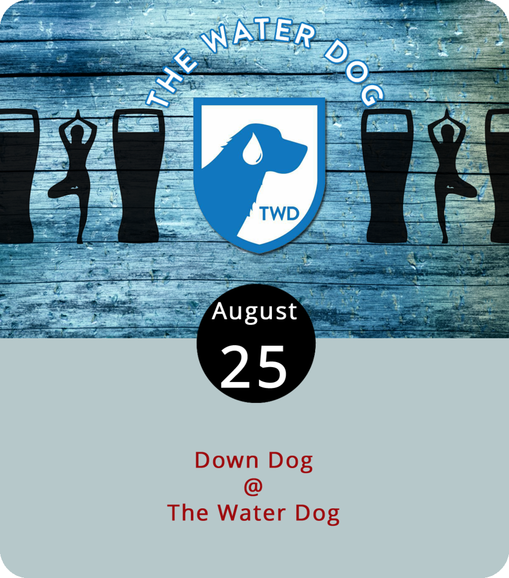 We're told that a drop-in yoga session usually costs a minimum of $10, and we know for a fact that a decent pint of ale, lager, or stout is generally at least $5. That makes today's pre-lunch Down Dog combo platter a pretty good deal. The Water Dog (1016 Jefferson St.) hosts a yoga class led by the able instructors at Yoga Goodness that comes with a pint of one's choice for just $12. The session, which can accommodate beginners and seasoned stretchers, is meant to be relaxing and restorative. The yoga commences at 11:30 a.m., after which you can order lunch off the Water Dog  menu or just be on your merry way. Click  here or call (434) 333-4681 for more info.