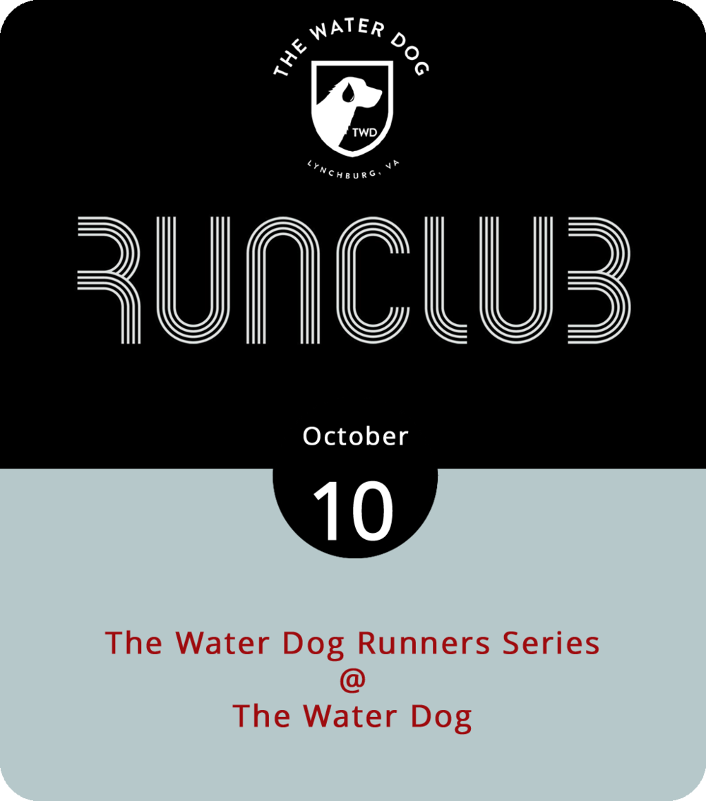 The bar patrons at the Water Dog (1016 Jefferson St.) this evening may look a little fitter than usual, thanks in part a fall runners series that gets rolling this evening. Basically, the Water Dog is inviting runners of all skills to meet up at the restaurant and bar for friendly yet competitive runs that start today will continue on the second Wednesday of months to come. Start time is 6 p.m. There are one- and five-mile courses and prizes for the winners. After the run, grab a beer and/or some food at the Water Dog. Click  here  for the menu,  here  for more info on the runners series, or call the Water Dog at (434) 333-4681.