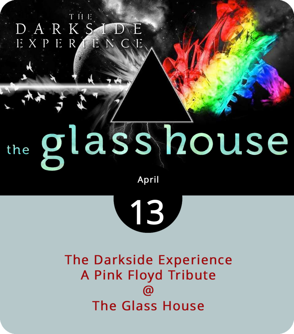 """Straight outta Roanoke and headed for something in the vicinity of a lunar trajectory, the Darkside Experience are a band that started out as a project and have turned into something of a calling. In their own words, they """"deliver the  experience  of Pink Floyd,"""" which sounds promising and a little concerning, depending on the era in question. We're going to guess they'll go heavy on  The Wall  and  Dark Side of the Moon  and leave some of the deeper cuts from  Ummagumma  and  A Saucerful of Secrets  for another time. They play the Glass House (1019 Jefferson St.) this evening. Doors are at 7:30 p.m. Tickets are $12 in advance, $17 at the door. Click  here  for tickets and more info."""