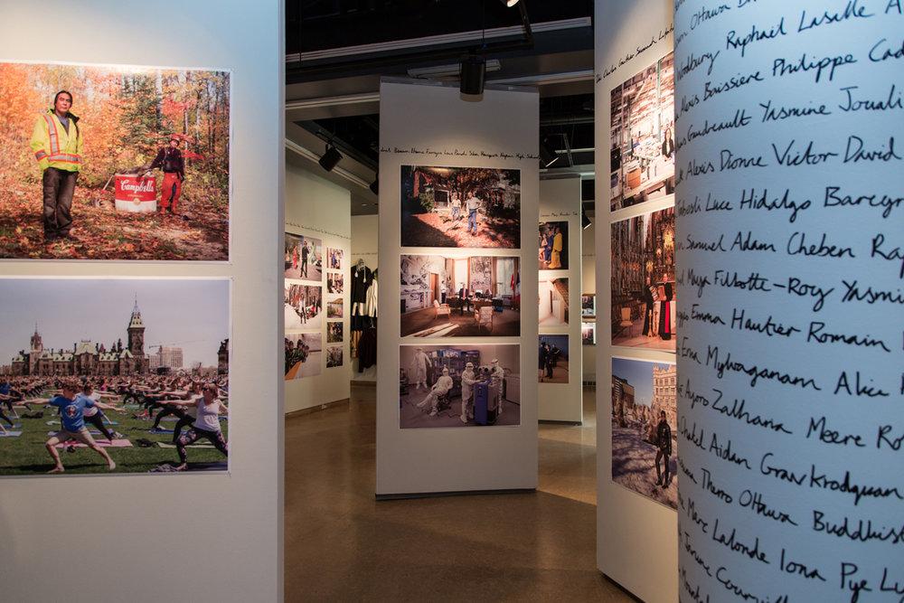 CANADA CANADA: Photographs by Rip Hopkins, installation view, Ottawa Art Gallery, 2017. Photo: Chris Snow
