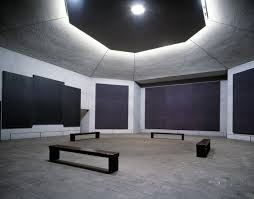 The next day, we stopped into the Rothko Chapel for a meditation break.