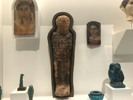 The MFAH has an incredible collection that includes a few ancient Fayum encaustic portraits from 150 A.D.