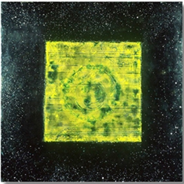 Matter Sponge, 2003  encaustic and oil on panel 36 x 36.5 inches.   Inquire for price.