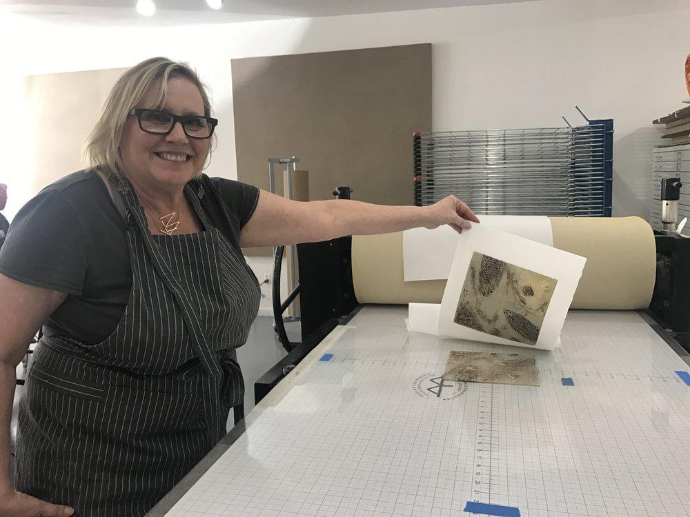 Kathleen printing.