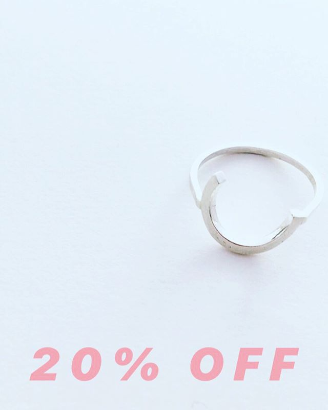 O N E  W E E K  L E F T ! !  Take 20% off any order over £45 until the end of May using the code APPIN20 at the checkout —  head over to www.appinandthird.com — you know you want tooooo 😎 #appinandthird #discountcode #handmadejewellery #handmadeinedinburgh #contemporaryjewellery