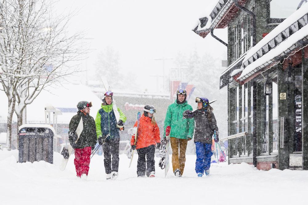 Gågaten i Trysil - Alpilox vintersesongen 2019
