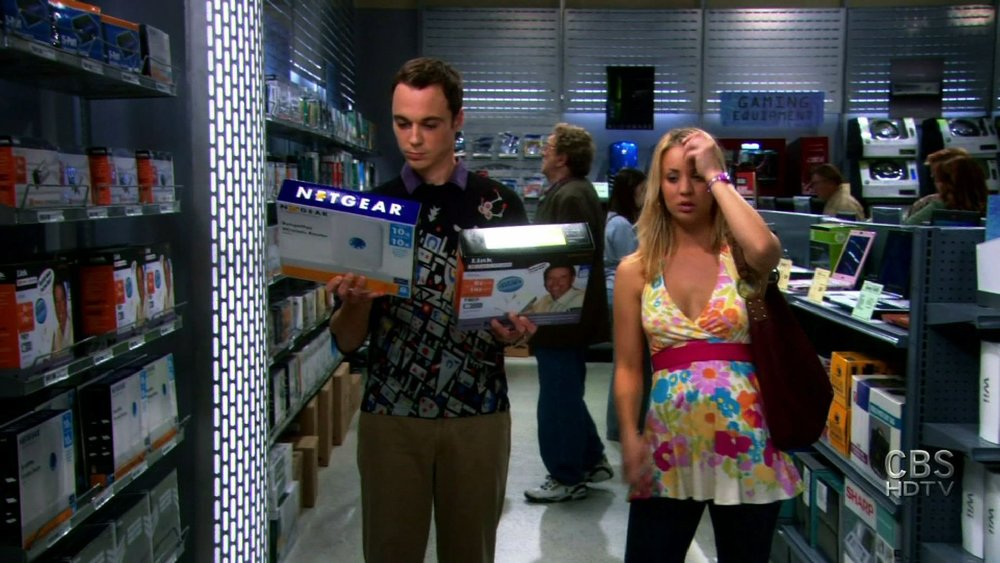 NETGEAR • Big Bang Theory
