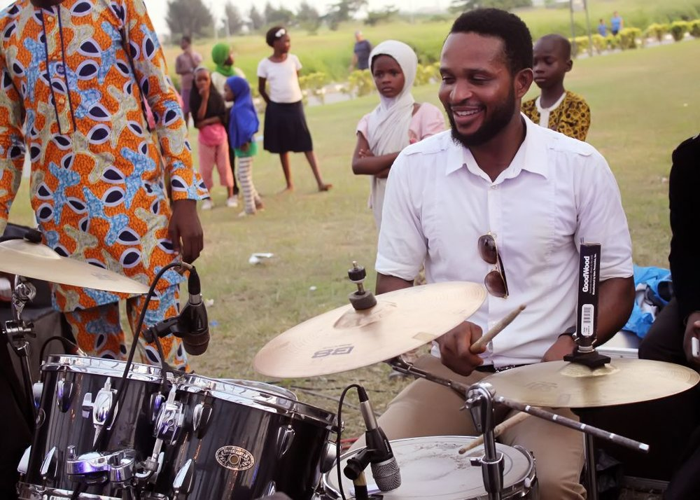 Chikezie Johnson - Drums