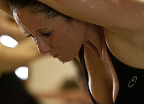 Bikram Yoga - not as sweaty as Hugo.