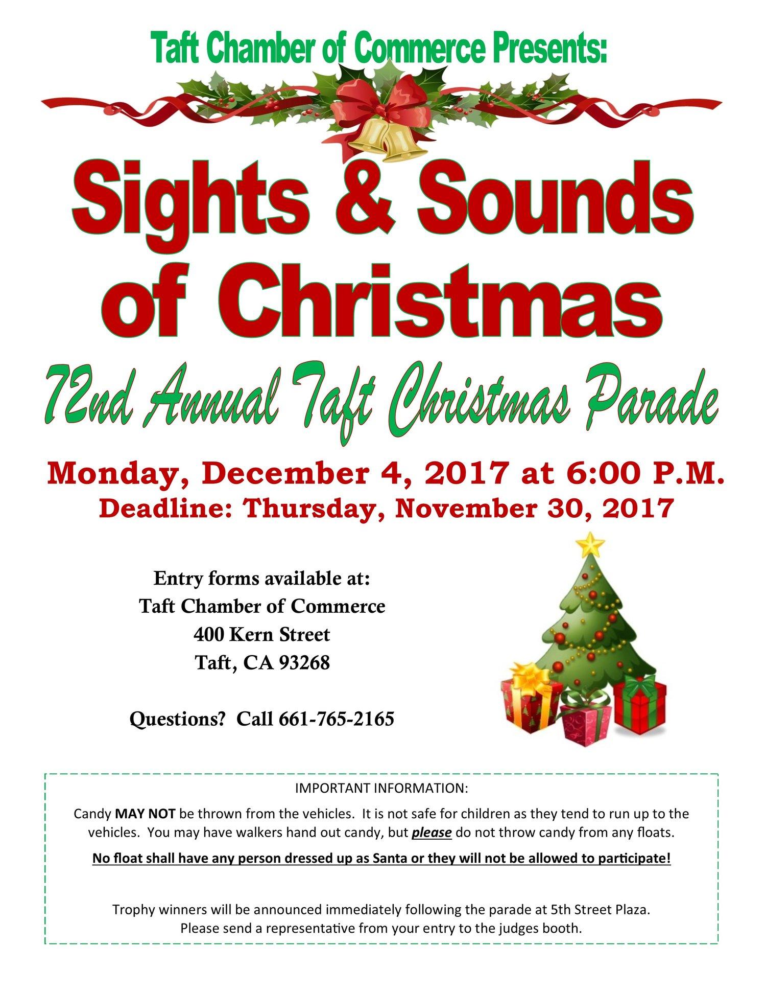 Taft Christmas Parade — Taft District Chamber of Commerce ...