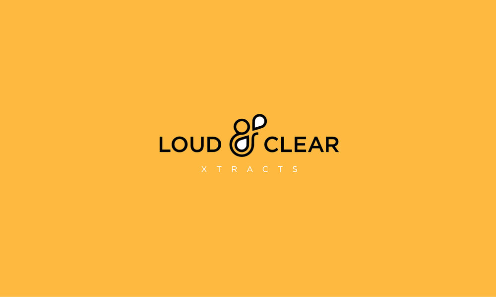 Loud and Clear extracts logo