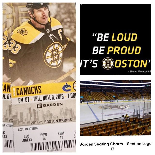 """Hockey Season is here 🏒🐻 Don't miss out on a chance to win these Bruins tickets!  10 days until MJW Foundation hosts """"Fight the Beast"""" Together let's kick cancers ass Www.mjwfoundation.org  #mjwfoundation #melanoma #cancersucks #danafarber #bostonbruins #hockeyseason  #boston"""