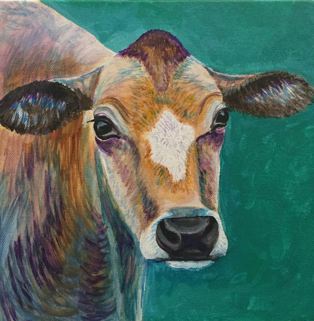 cow 10x10 $160.00