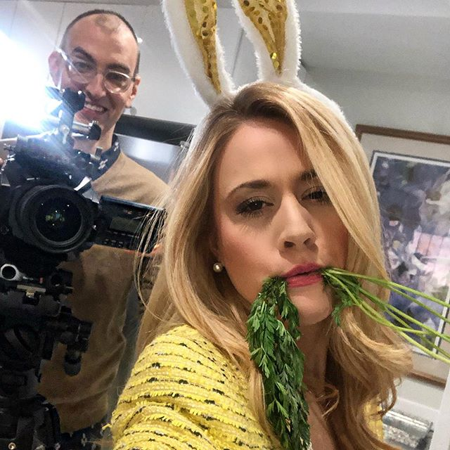 Livin' that Bunny Lyfe. Every Bunny ❤️'s You! I'm a 🐰xoxo . . . I'm ready for my close up @kevinguzewich ! . . Stay Tuned! #watch @why2kstv !🐰 🥕  #bunnylife #bunny #easter #sketchcomedy #grateful #comedy #comedyduo #create #funnyvideos #funnyshit