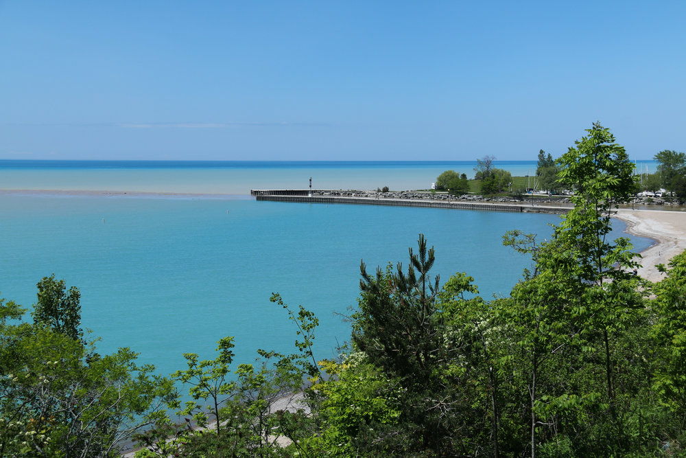 Bayfield's Main Beach