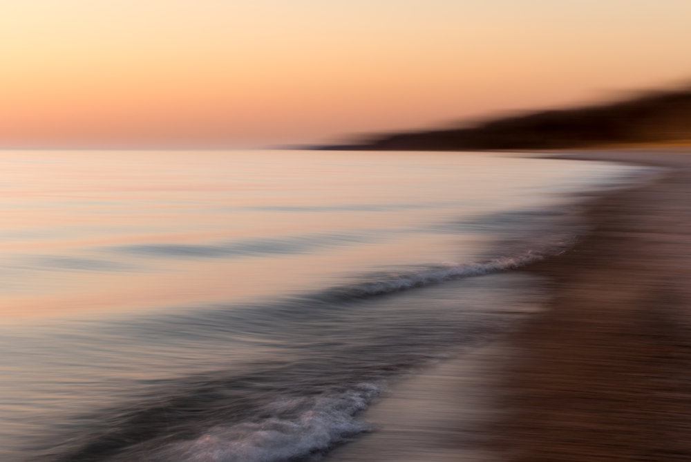 Blurred Beach
