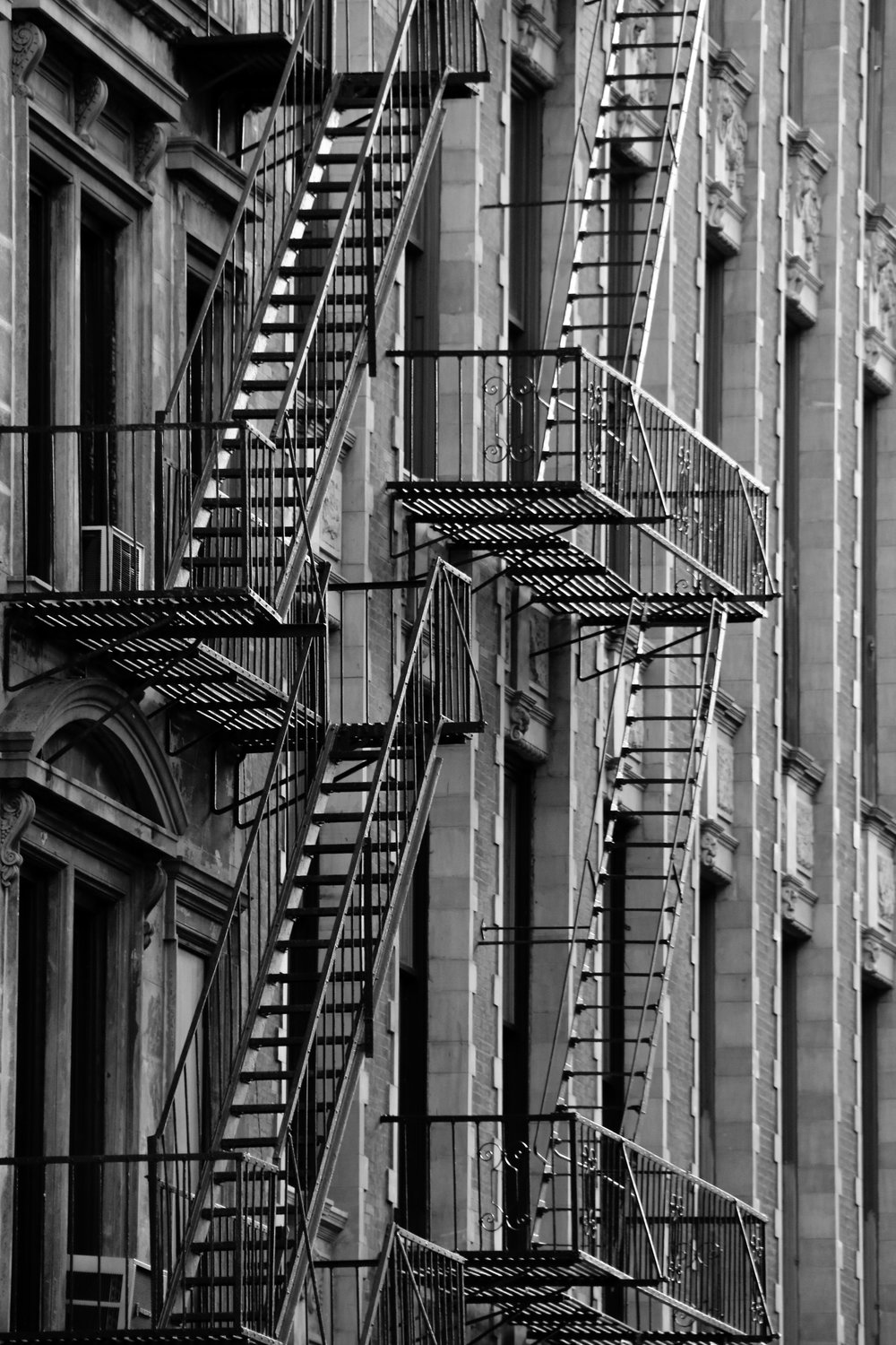 NYC Fire Escapes