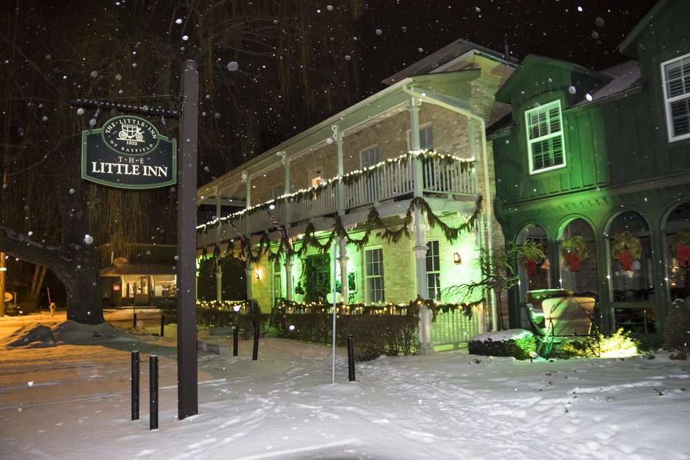 Snow at the Little Inn