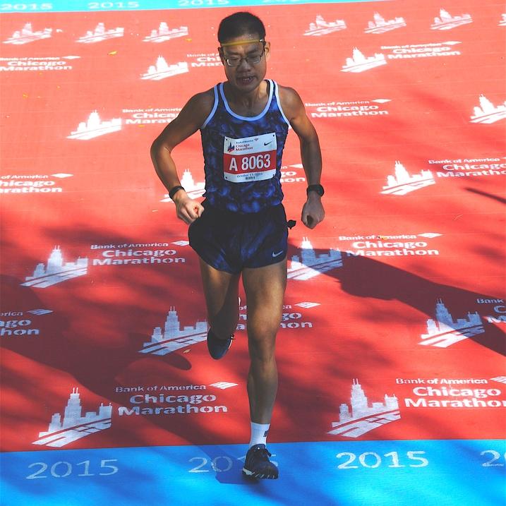 Henry Huang Mile-Marathon @HeHuang81