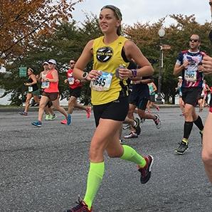 Brianne Teichmann Half Marathon-Marathon @bnteichmann