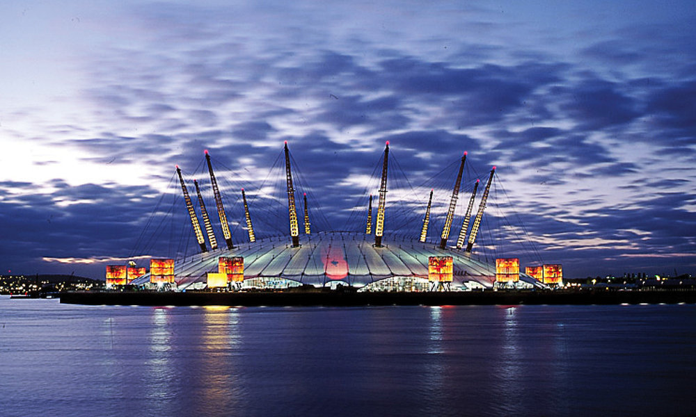 The completed Millennium Dome project