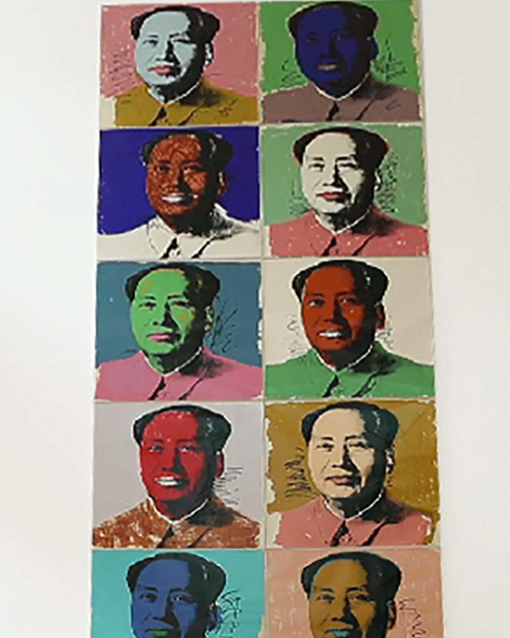 Andy Wharlo's Mao Zedong Portraits