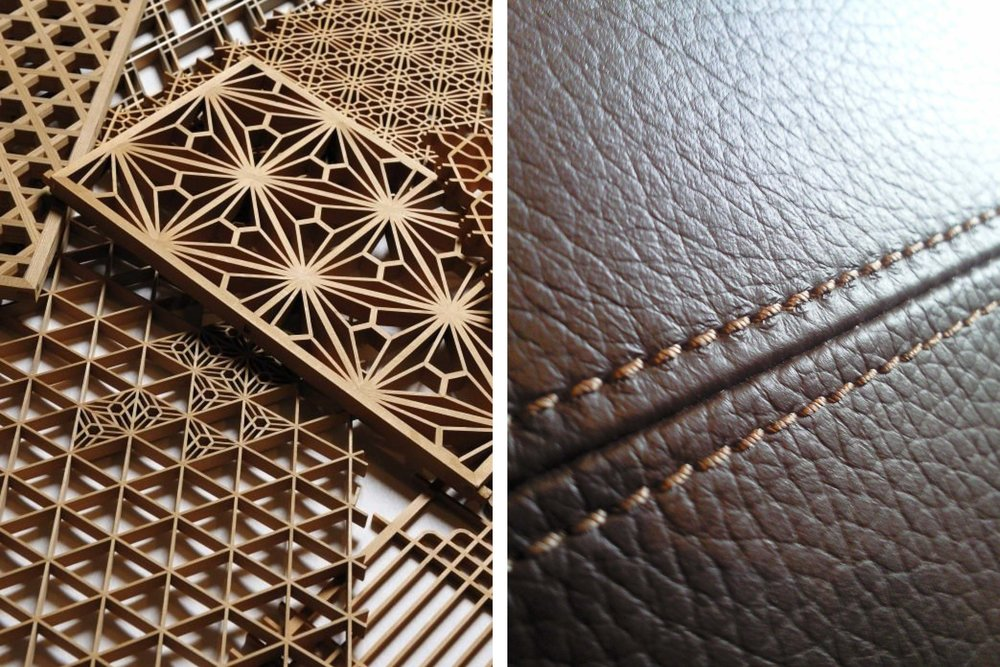 bespoke detailing and the most expensive materials