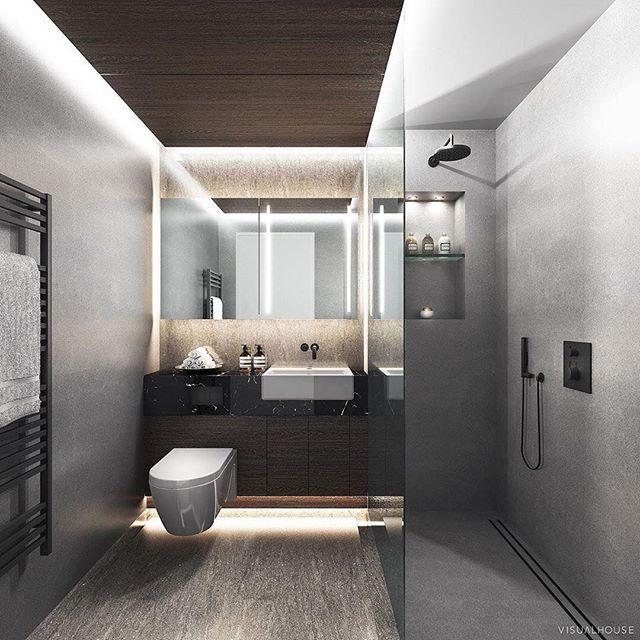 📸 @visualhouse repost  Our bathroom design at the Spire  #visualhouse #repost  #bathroomdesign #spire #residentialdesign #interiordesign #architect #ribaarchitect #residentialarchitect #luxuryarchitect #highriseresidential #londonarchitect