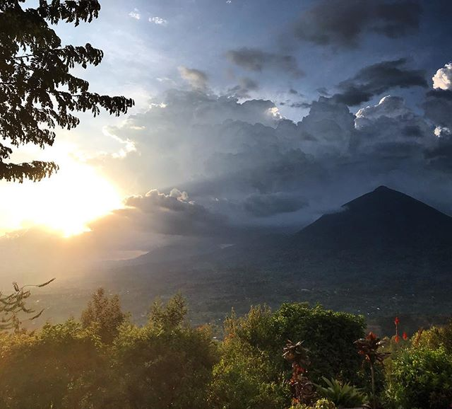 Last sunset here in the Virungas, before the long haul back to London. What a privilege it is to work on projects with a backdrop like this. Thank you Volcanoes Safaris #virunga #londonarchitects #mostamazinglocations #gorillasafari #unique