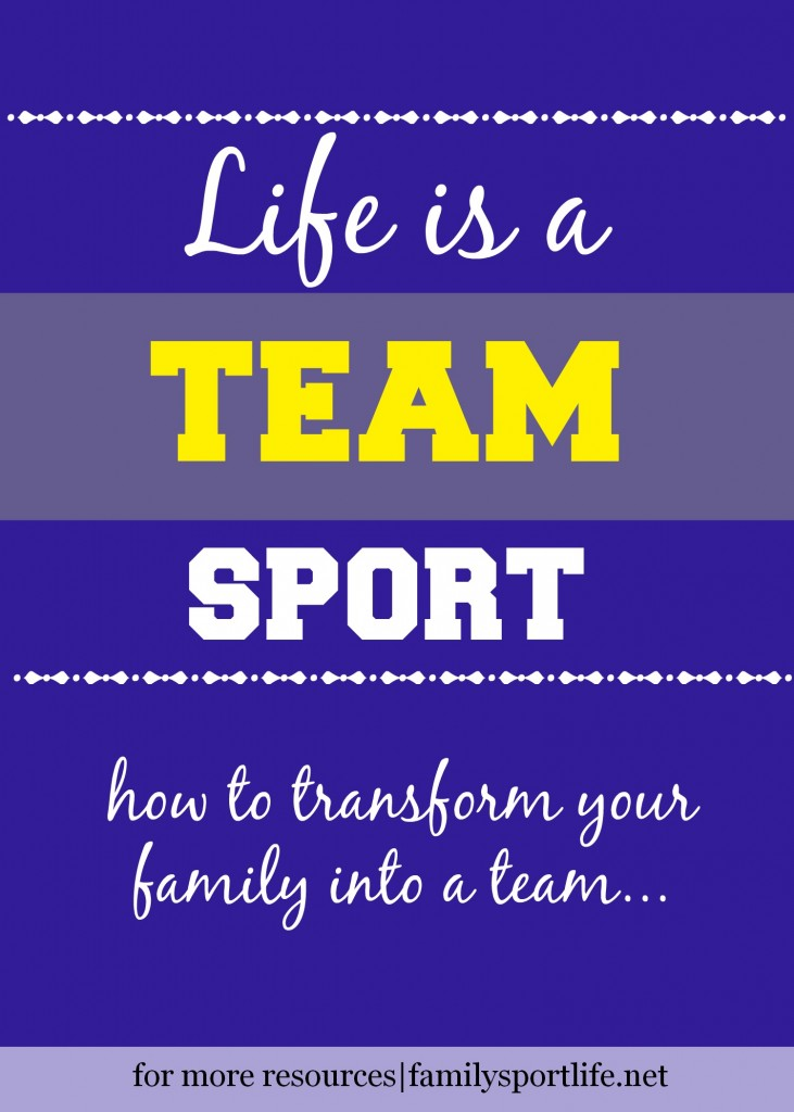 How to transform your family into a team via @familysportlife
