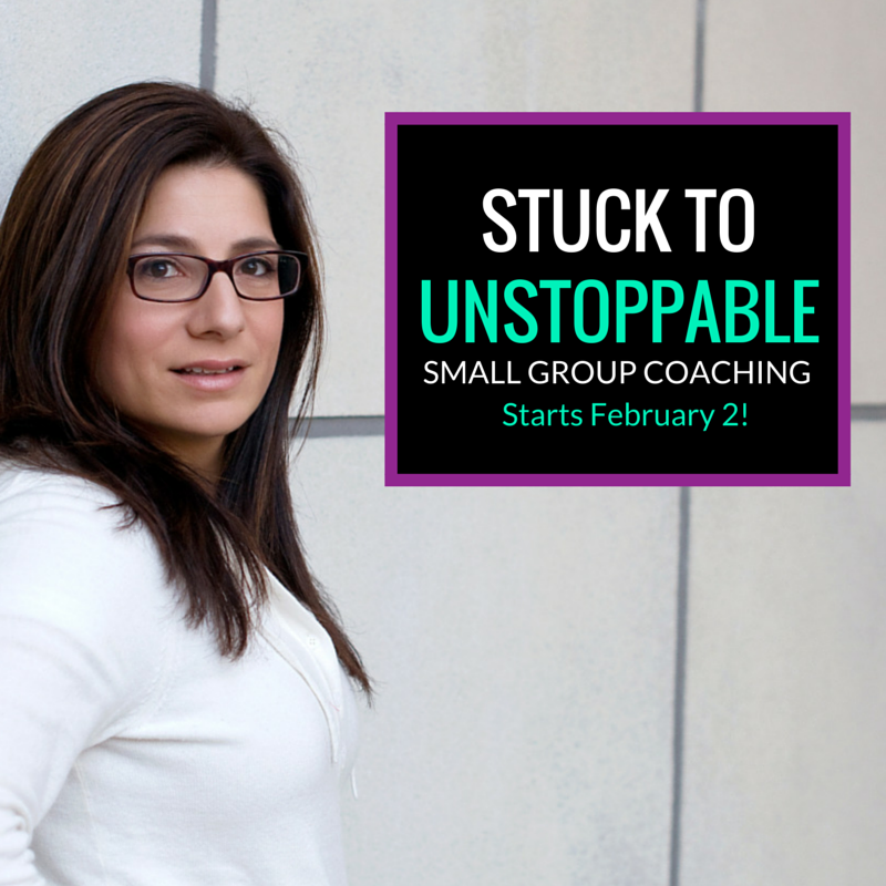 From Stuck to Unstoppable Small Group Workshop