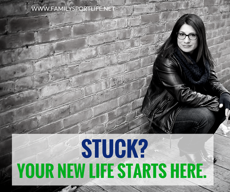 Stuck- Your New Life Starts Here.